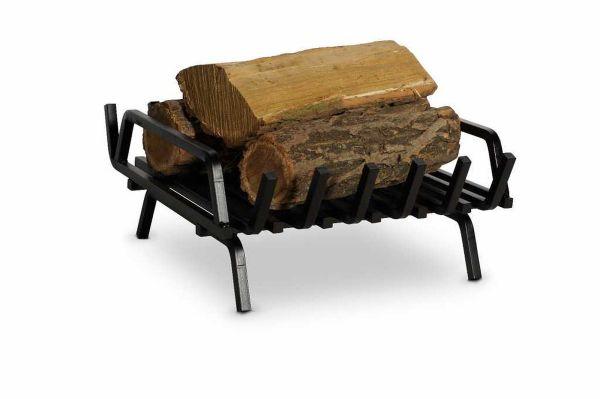 Kaminrost Feuerbock Eisen schwarz Feuerrost Kaminzubehör 43x45cm N-FR-207