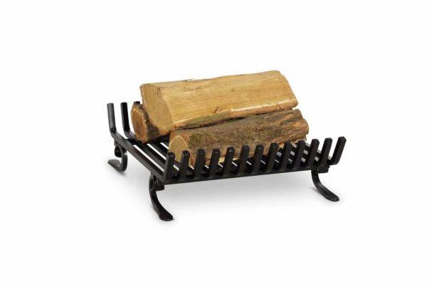 Feuerbock Kaminrost Feuerrost Eisen schwarz Kamineinsatz Kaminzubehör 43x45cm N-FR-210
