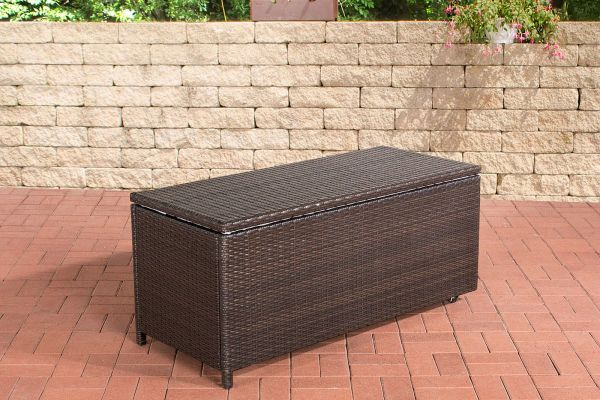 polsterbox wasserdicht simple gartentruhe sitzbank keter kissenbox auflagenbox rattan with. Black Bedroom Furniture Sets. Home Design Ideas